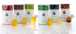 Image of All Six Scents of MiEssence Certified Organic Botanical Perfumes