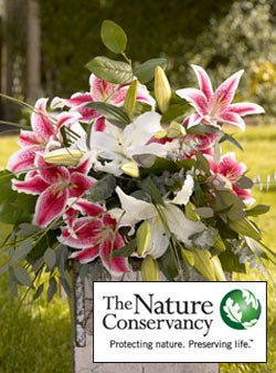 Organic Bouquet for The Nature Conservancy