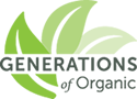 Generations of Organic logo